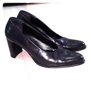 Franco Sarto leather pump heel shoes sz 8.5